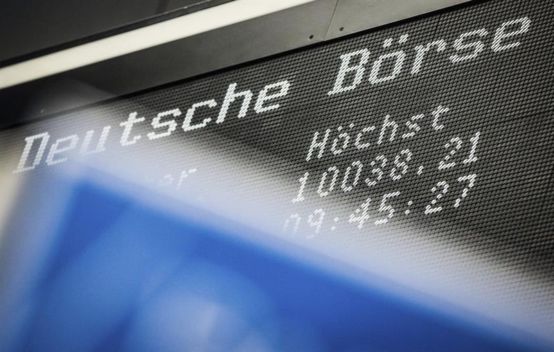The Frankfurt Stock Exchange rises 0.07 percent at the opening