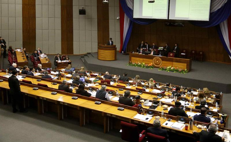 The Paraguayan Senate modifies the budget and returns to Deputies for the final sanction
