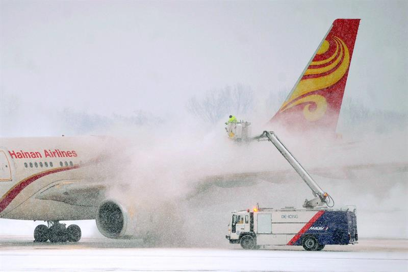 China completes the first flight to the USA using recycled cooking oil